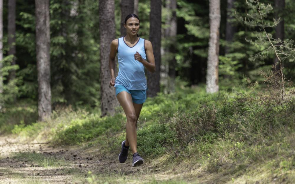 Richtige Laufstrecke beim Joggen in der Hitze
