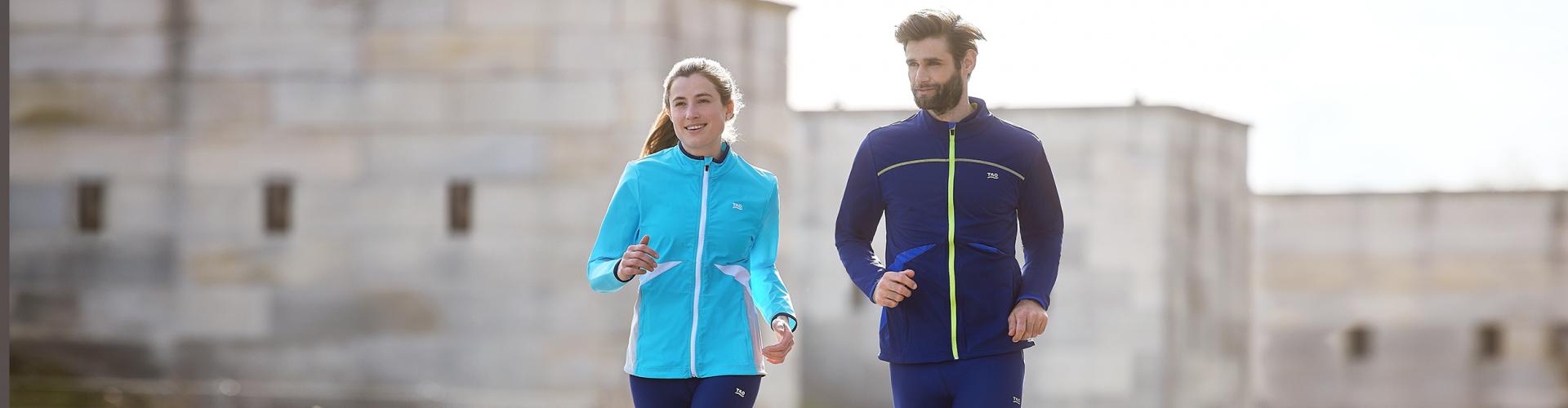 Nachhaltige Laufbekleidung für Damen und Herren