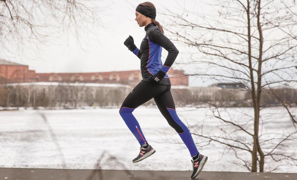 Laufen im Winter Zwiebelprinzip