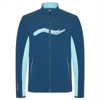 TAO Sportswear - EVEN - Atmungsaktive Laufjacke mit Reflektoren und Handysicherung - deep sea