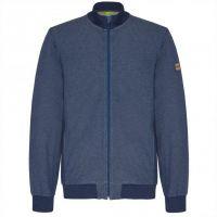 TAO Sportswear - FRÄNKY - Freizeitjacke aus GOTS-zertifizierter Bio-Baumwolle - navy