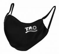 TAO Sportswear - MASKE - 10er Pack (FunktionsTex) - FunktionsTex mit Logo - black