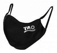 TAO Sportswear - MASKE - 3er Pack (FunktionsTex) - FunktionsTex mit Logo - black