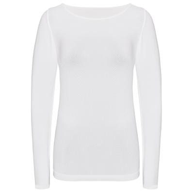 Langarm Shirt anliegende Leggings  S-XL atmungsaktiv Damen Funktionswäsche