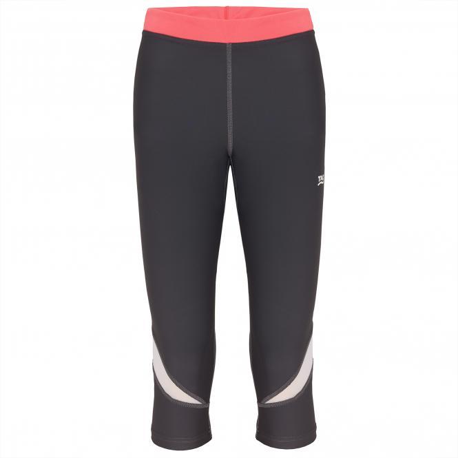 TAO Sportswear - ALLANA - Atmungsaktive 3/4 Lauftight aus dem Meer - titanium
