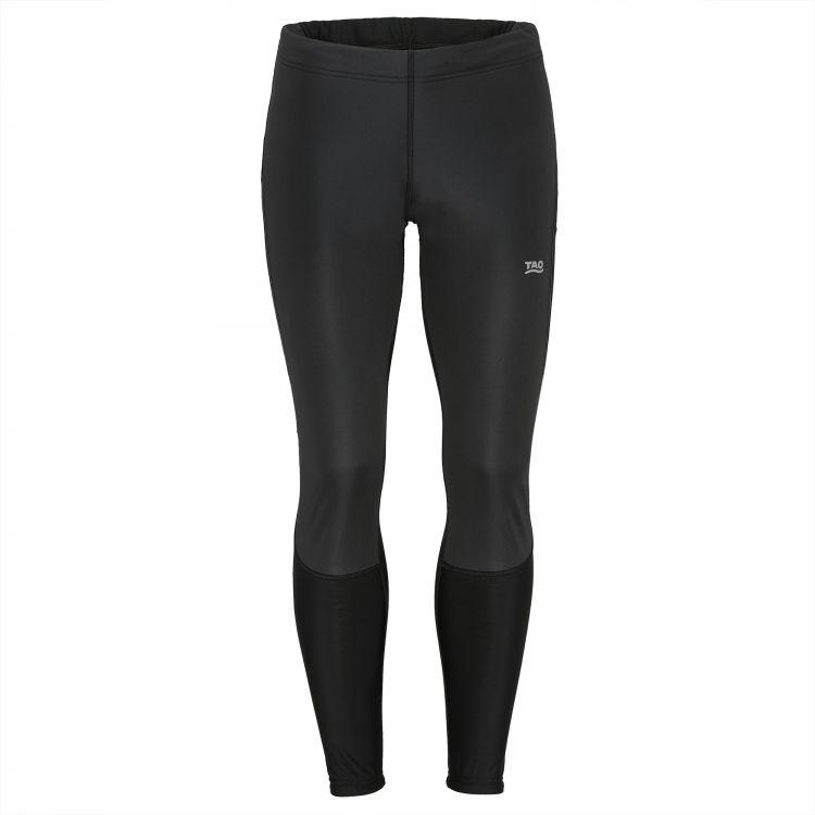 TAO Sportswear - ARKTI - Windstopper Herren Lauftight für kältere Tage - black