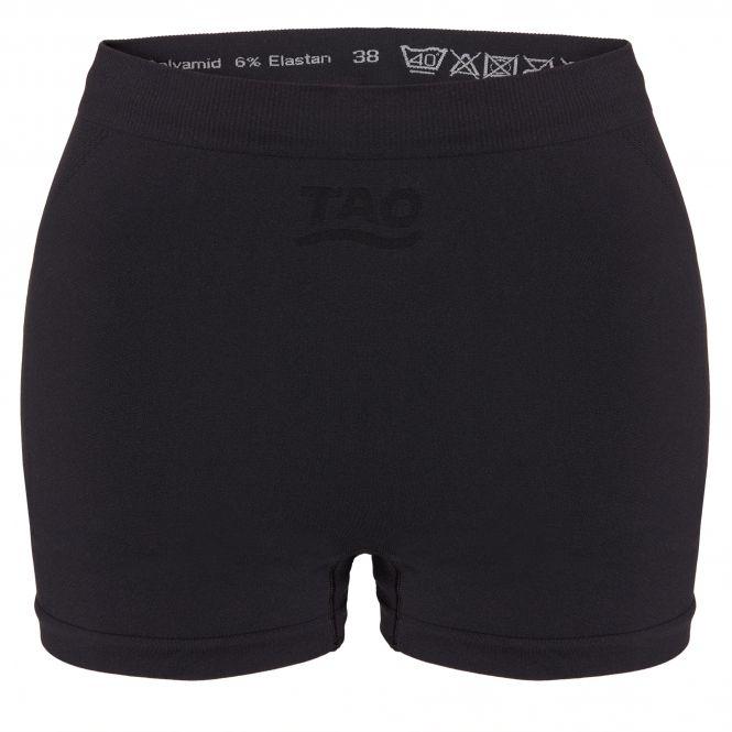 TAO Sportswear - BOXER - Atmungsaktive Boxershort für Damen - black
