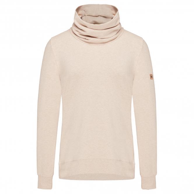 TAO Sportswear - COOLIA - Kuscheliger Hoodie aus Bio-Baumwolle - beige meliert