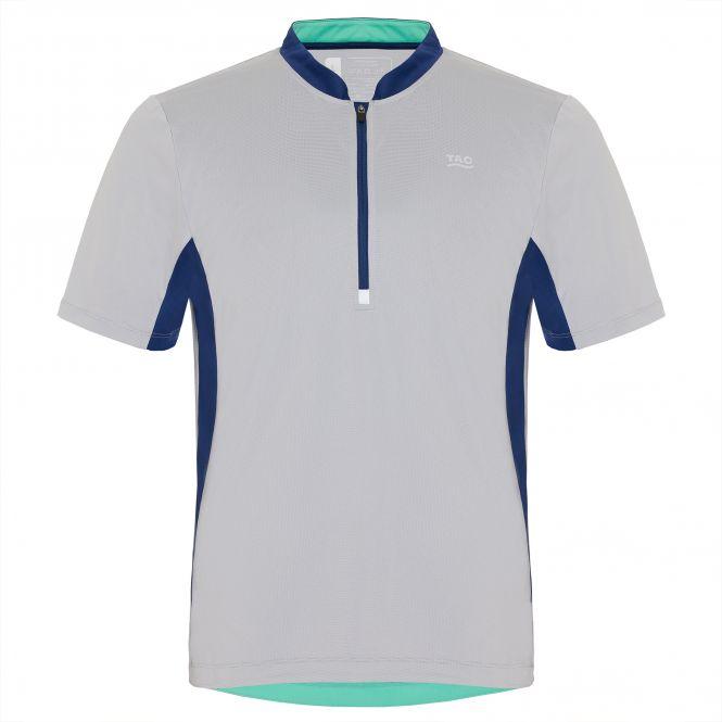 TAO Sportswear - EYLO - Atmungsaktives Laufshirt mit Zip - cloud