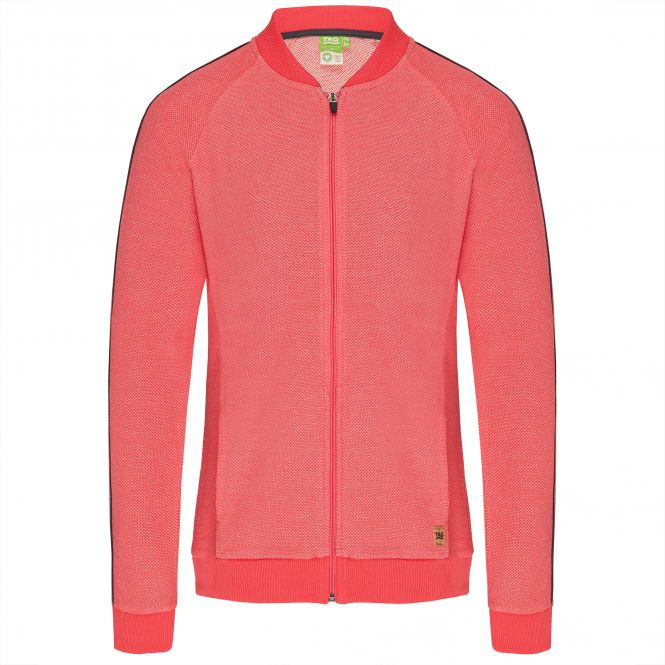 TAO Sportswear - FRITZI - Taillierte Sweatjacke mit Stehkragen aus Bio-Baumwolle - icelolly