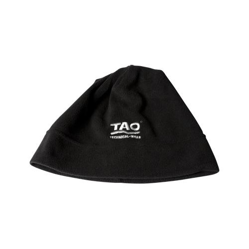 TAO Sportswear - LIGHT Cap - Leichte Mütze aus Fleece - black