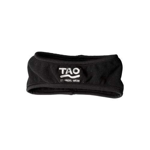 TAO Sportswear - LIGHT Head Band - Stirnband aus Fleece - black
