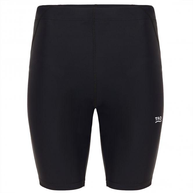 TAO Sportswear - LINU - Atmungsaktive Lauftight mit Gesäßtasche - black