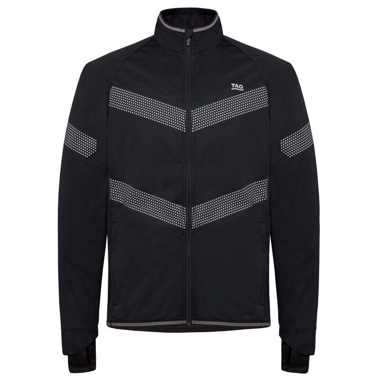 TAO Sportswear - NOX - Winddichte Laufjacke mit Daumenschlaufe - titanium