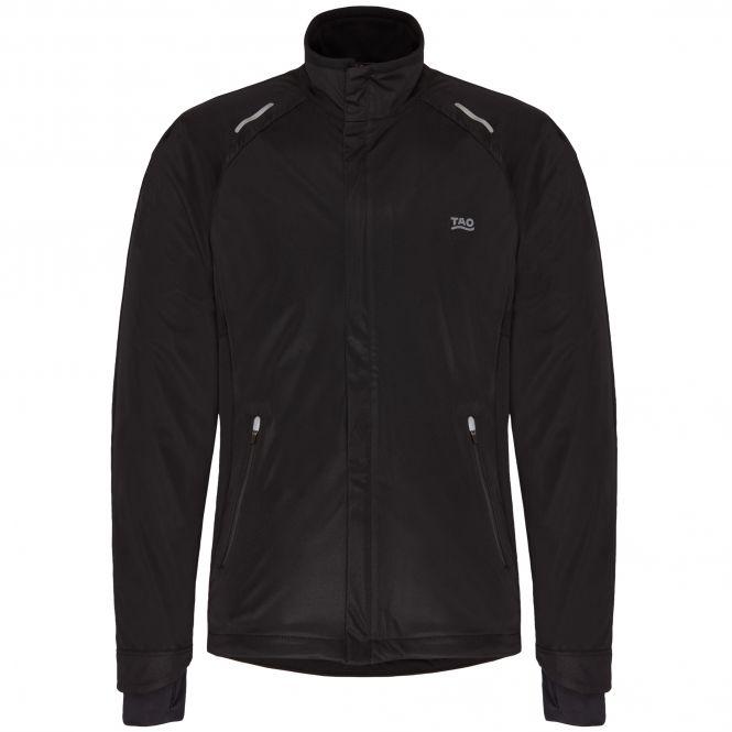 TAO Sportswear - PERO - Klimazonen Laufjacke mit wasserdichten Zonen - black