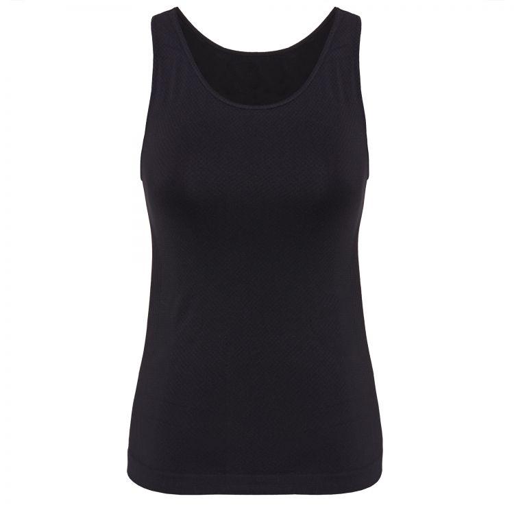 TAO Sportswear - TANK TOP - Atmungsaktives Funktionsunterhemd für Damen - black