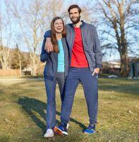 TAO Sportswear - FRITZI - Sweatjacke mit Stehkragen aus Bio-Baumwolle - navy