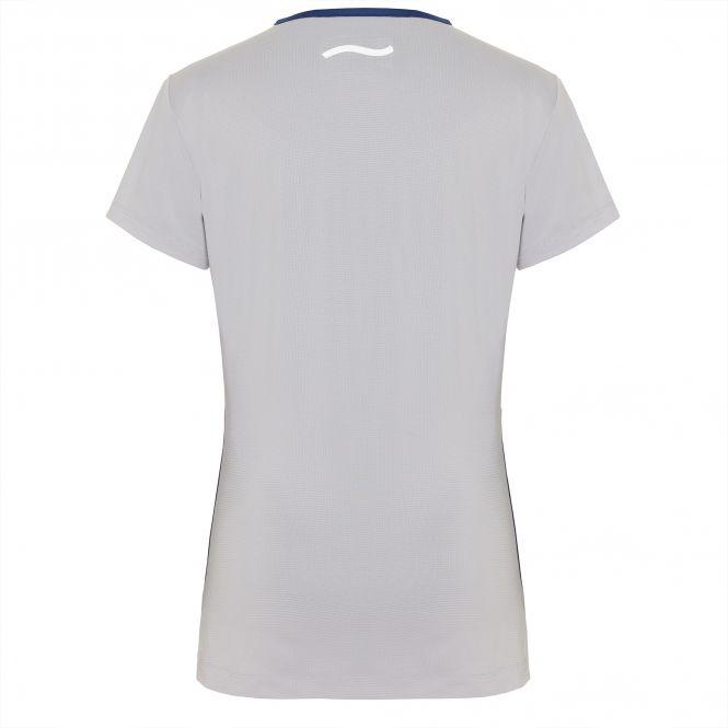 TAO Sportswear - BRIAR - Atmungsaktives Laufshirt mit Reflektoren - cloud