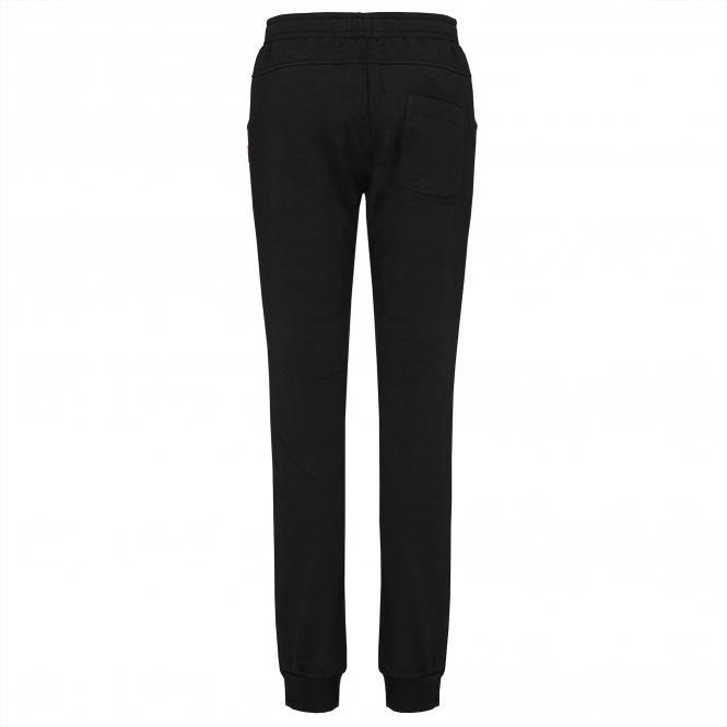 TAO Sportswear - ELFI - Warme Freizeithose aus Bio-Baumwolle - black