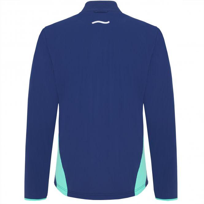TAO Sportswear - ELINO - Atmungsaktive Laufjacke mit UV-Schutz - blueberry