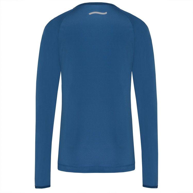TAO Sportswear - ENJA - Atmungsaktives Laufshirt mit und Reflektoren - saphir/new devil