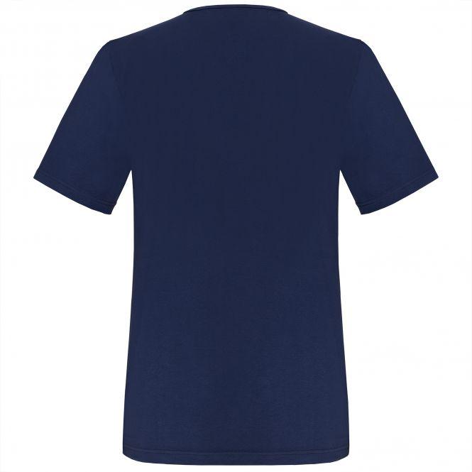TAO Sportswear - FRANZERL - Bequemes Freizeitshirt aus Bio-Baumwolle - navy