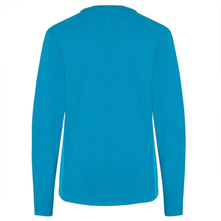 TAO Sportswear - HENRIKA - Bequemes Langarm Freizeitshirt aus Bio-Baumwolle - deep ocean