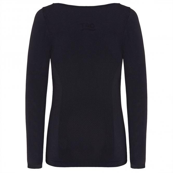 TAO Sportswear - LANGARM SHIRT - Schnelltrocknendes Funktionsunterhemd - black