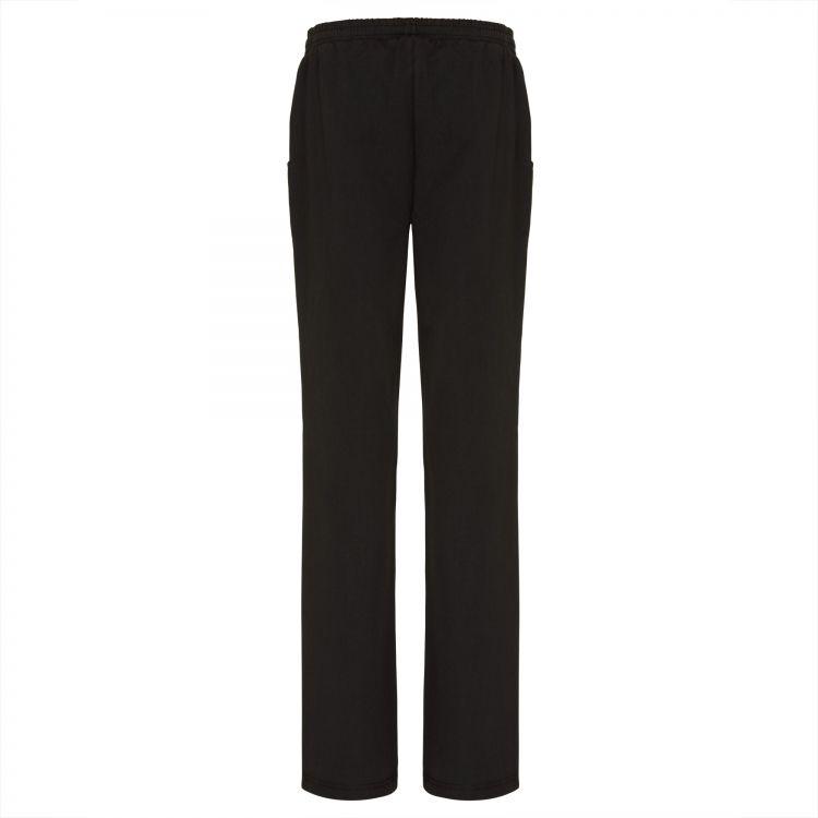 TAO Sportswear - MAJA - Dünne Freizeithose aus Bio-Baumwolle - black