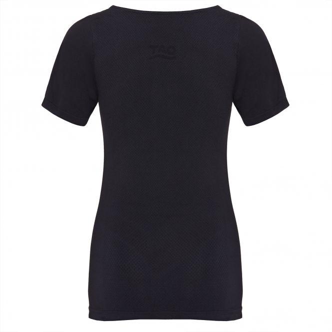 TAO Sportswear - SHIRT - Schnelltrocknendes Funktionsshirt - black