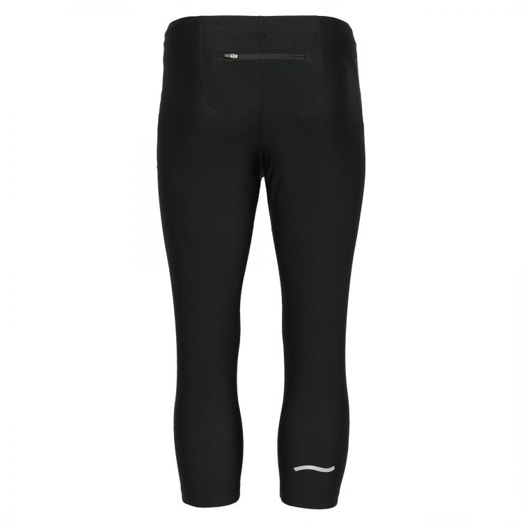 TAO Sportswear - XENI - Atmungsaktive 3/4 Lauftight aus dem Meer - black