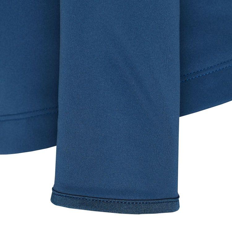 TAO Sportswear - ANISHA - Warmes Langarm Laufshirt mit Zip - saphir