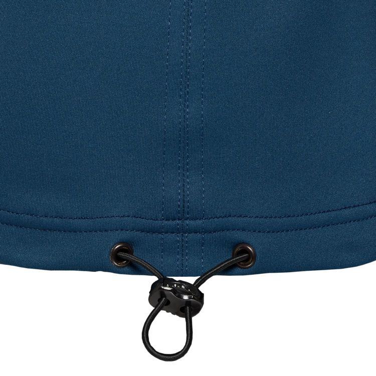 TAO Sportswear - BANU - Lockerer, warmer Laufhoodie mit Kapuze - deep sea