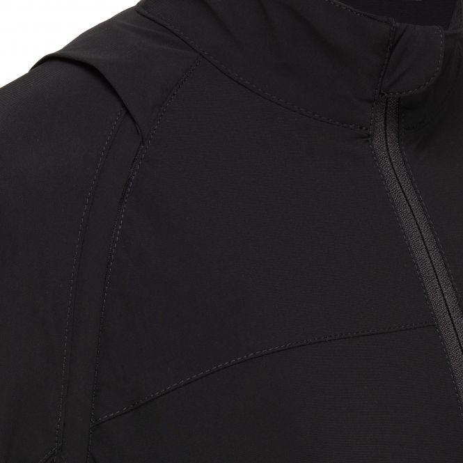 TAO Sportswear - BEGA - Laufjacke mit abnehmbaren Ärmeln - black
