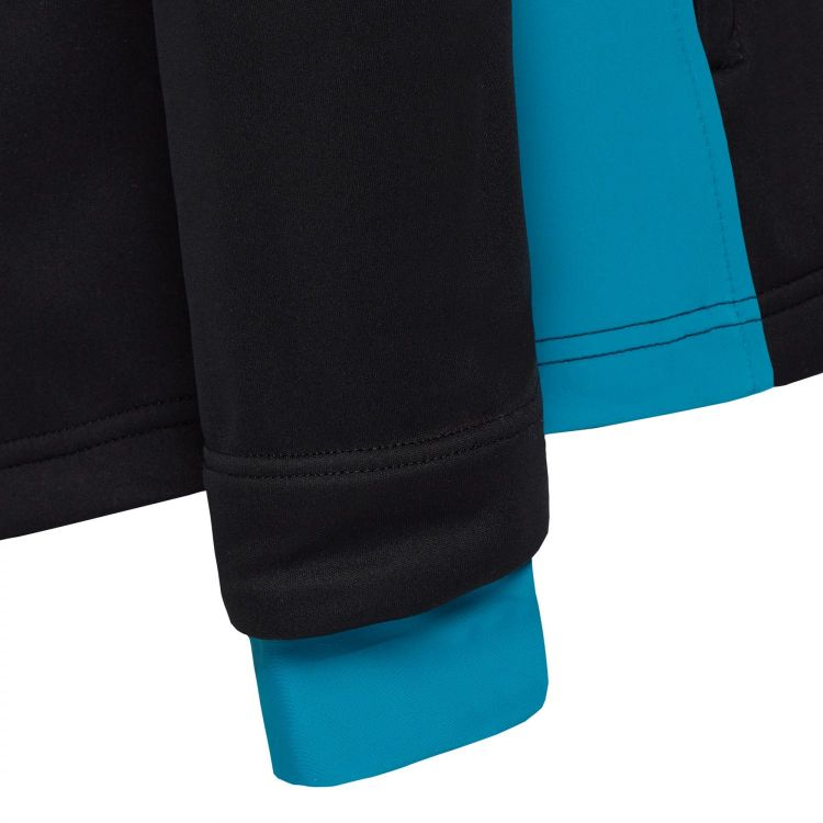 TAO Sportswear - Bjarka - Warme, wasserdichte Laufjacke mit Kapuze und Daumenschlaufe - black