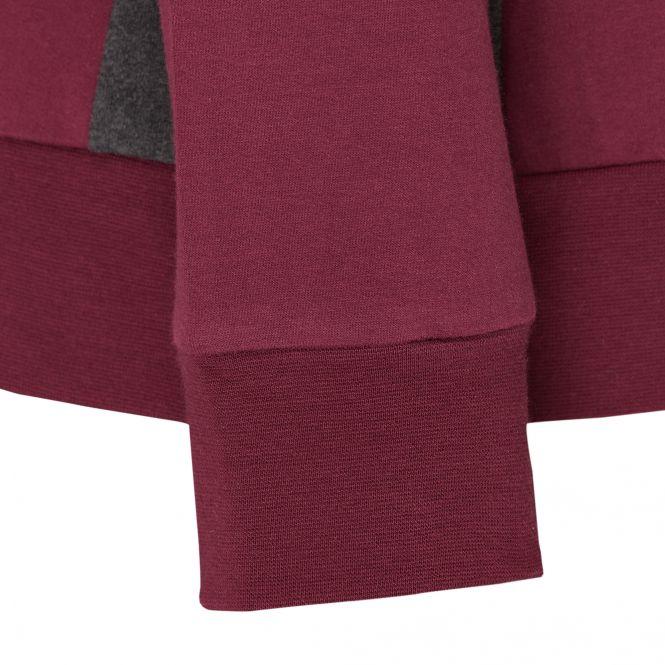 TAO Sportswear - EFFI - Sweatjacke mit Stehkragen aus Bio-Baumwolle - dark tibet