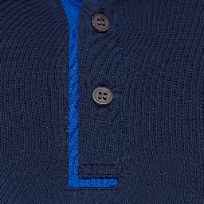 TAO Sportswear - FOSSI - Kühlendes Poloshirt aus Holzfasern - navy