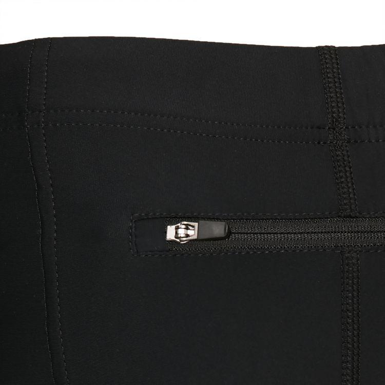 TAO Sportswear - GIGU - Atmungsaktive 3/4 Lauftight aus dem Meer - black