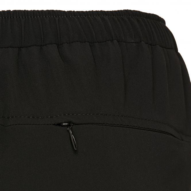 TAO Sportswear - KIKE - Lockere Laufshort mit feststellbarer Reißverschlusstasche - black