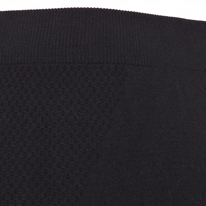 TAO Sportswear - LANGE TIGHT - Atmungsaktive, lange seamless Damen Funktionsunterhose - black