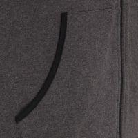 TAO Sportswear - EGON - Warme Freizeitjacke mit Kapuze aus Bio-Baumwolle - graphit melange