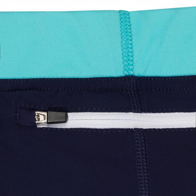 TAO Sportswear - 3/4-Running Tight - Atmungsaktive 3/4 Lauftight aus dem Meer - admiral
