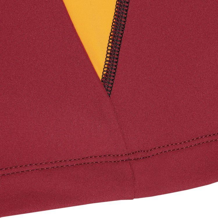 TAO Sportswear - LEGOLAS - Warmes Langarm Laufshirt mit Rundhalskragen - dark red/new devil