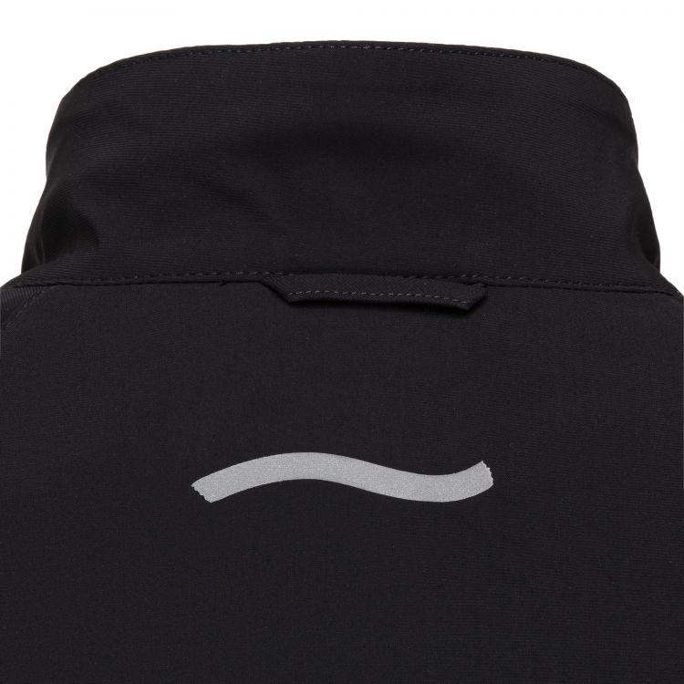 TAO Sportswear - NILO - Herren Laufjacke mit abnehmbaren Ärmeln - black