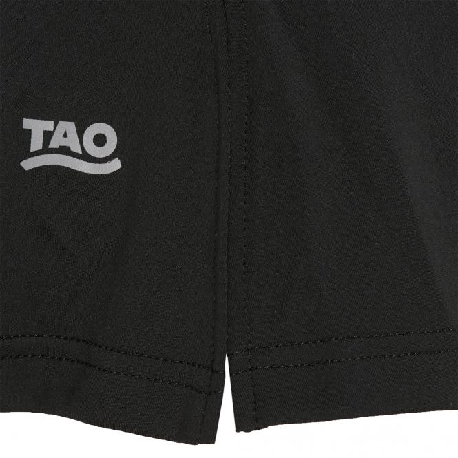 TAO Sportswear - RABA - Laufrock mit integrierter Tight - black