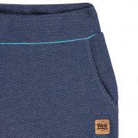 TAO Sportswear - FLEUR - Strukturierte Freizeithose aus Bio-Baumwolle - navy