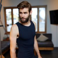 TAO Sportswear - TANK TOP - Atmungsaktives Herren Funktionsunterhemd - black