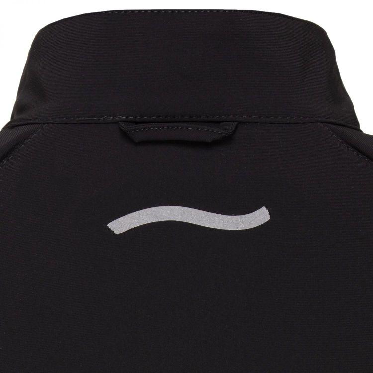 TAO Sportswear - BEGA - Laufjacke mit abnehmbaren Ärmeln und Reflektoren - black