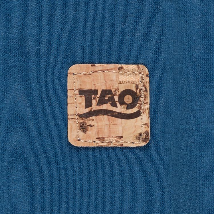 TAO Sportswear - ELLA - Bequemes langarm Freizeitshirt aus Bio-Baumwolle - saphir
