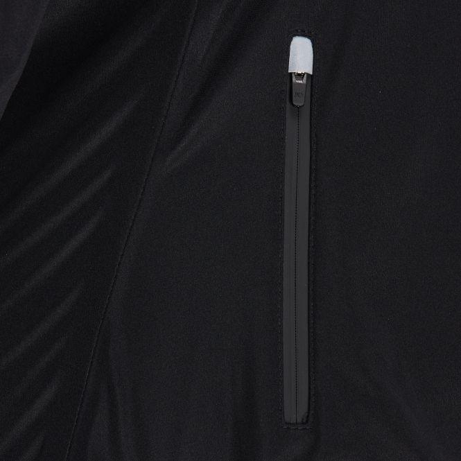 TAO Sportswear - LUNE - Wind- und wasserdichte Laufjacke mit Kapuze - black